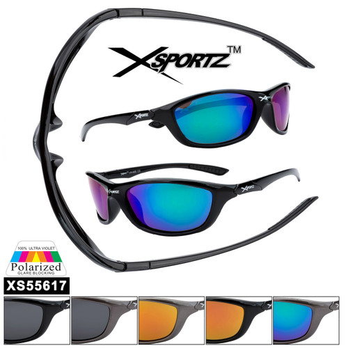 Polarized Xsportz™ Sports Sunglasses XS55617