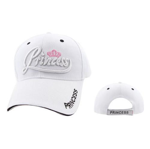 White Princess Wholesale Baseball Hat
