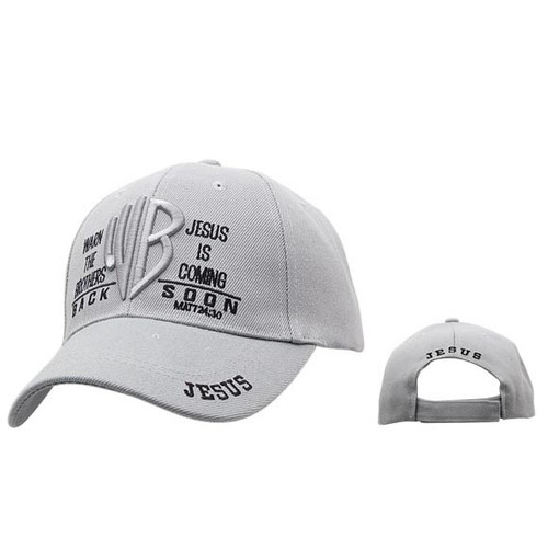 "Christian Ball Cap | ""WB Warn the Brothers Jesus is Coming"""