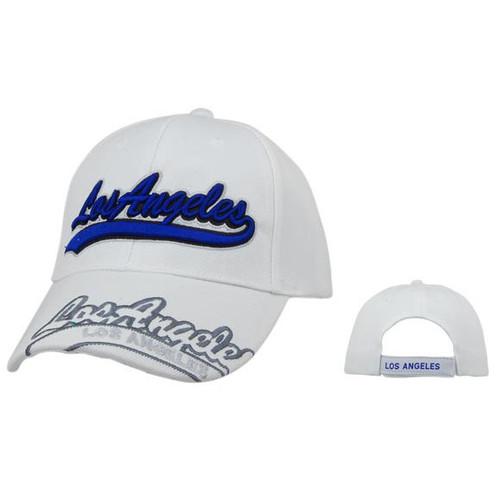 Los Angeles Wholesale Baseball Caps-White