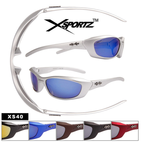 Men's Wholesale Sports Sunglasses - Style #XS40