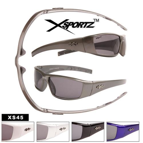 Xsportz™ Wholesale Men's Sunglasses - Style #XS45