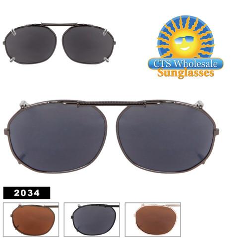 Wholesale Clip On Sunglasses 2034