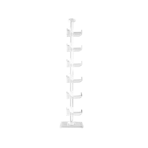 Clear Acrylic Display Stand | Holds 6 Pair(s)