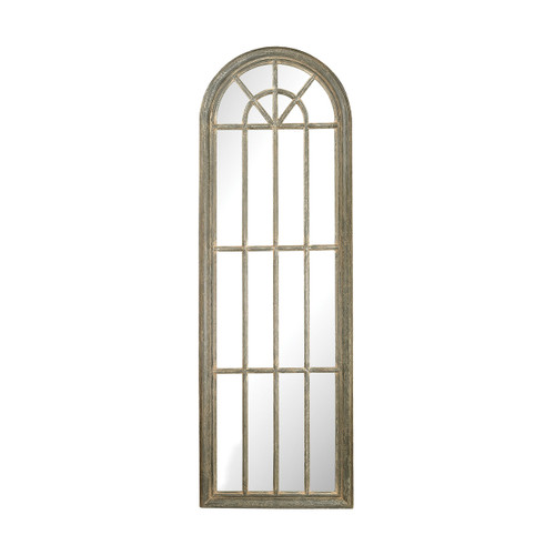 Sterling 6100-007 Full Length Arched Window Pane Mirror