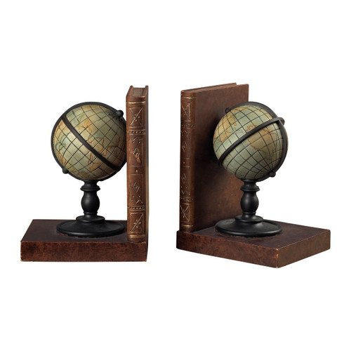 Sterling 93-9224 Atlas Bookends