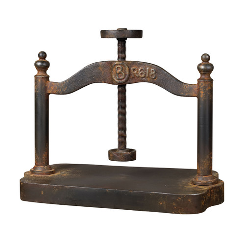 Sterling 129-1009 Cast Iron Book Press