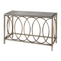 Sterling 114-96 Rings Console Table with Mirrored Top