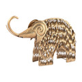 Sterling 3138-199 Gold Wooly Mammoth
