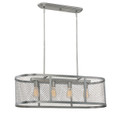 Millennium Lighting 3284-BPW Akron Island Light in Brushed Pewter