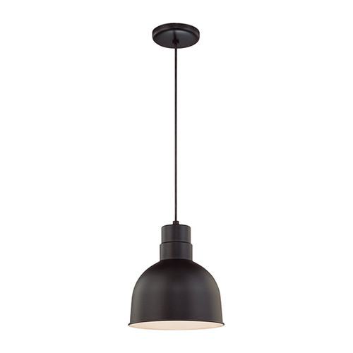Millennium Lighting RDBC10-SB R Series Pendant in Satin Black