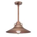 Millennium Lighting RRRS18-CP R Series Pendant in Copper