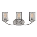 Millennium Lighting 3273-BPW Akron Vanity Light in Brushed Pewter
