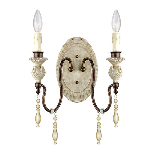 Millennium lighting 7302 awbz denise wall sconce in antique white millennium lighting 7302 awbz denise wall sconce in antique whitebronze aloadofball Choice Image
