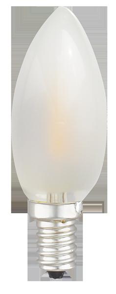 Kodak 55005-UL 6W Torpedo Collection 2700K CRI 82 Frosted Lightbulbs (Set of 6)