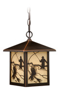 """Vaxcel T0112 Mayfly 8"""" Outdoor Pendant"""