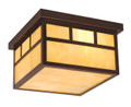 """Vaxcel OF37211BBZ Mission 12"""" Outdoor Ceiling Light"""