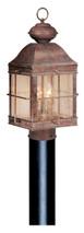 """Vaxcel OP39595RBZ Revere 10"""" Outdoor Post Light"""
