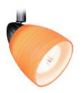 Vaxcel TP53413DB Veneto 3 Light Spot Light Pendant with Amber Wiped Glass