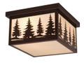 "Vaxcel OF33412BBZ Yosemite 12"" Outdoor Ceiling Light"