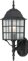 "NUVO Lighting 60/4903 Adams 1 Light 18"" Outdoor Wall with Frosted Glass"