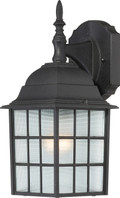 "NUVO Lighting 60/4906 Adams 1 Light 14"" Outdoor Wall with Frosted Glass"