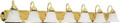 """NUVO Lighting 60/293 Ballerina 7 Light 48"""" Vanity with Alabaster Glass Bell Shades"""