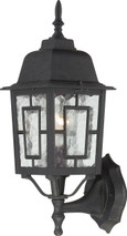 """NUVO Lighting 60/4926 Banyan 1 Light 17"""" Outdoor Wall with Clear Water Glass"""