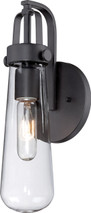 NUVO Lighting 60/5361 Beaker 1 Light Wall Sconce with Clear Glass
