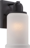 NUVO Lighting 62/693 Mini Stellar LED Pendant with White to Clear Glass