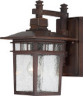 """NUVO Lighting 60/4958 Cove Neck 1 Light 14"""" Outdoor Lantern with Clear Seeded Glass"""