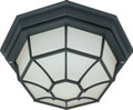 """NUVO Lighting 60/580 1 Light CFL 12"""" Ceiling Spider Cage Fixture (1) 18W GU24 (Bulb Included)"""