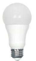 SATCO S9108 Set of 6 Type A LED Lightbulbs (7A19/LED/5000K/510L/120V/D)