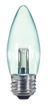 SATCO S9154 Set of 6 Candle LED Lightbulbs (1.4W/ETC/LED/120V/CD)
