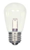 SATCO S9174 Set of 6 Sign & Indicator LED Lightbulbs (1.4W/S14/CL/LED/120V/CD)