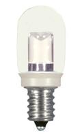 SATCO S9177 Set of 6 Sign & Indicator LED Lightbulbs (0.8W/T6/CL/LED/120V/CD)
