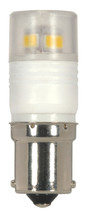 SATCO S9223 Set of 6 Minature LED Lightbulbs (LED/2.3W/BA15S/5000K)