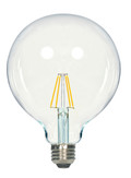 SATCO S9566 Set of 6 LED Filament LED Lightbulbs (6.5G40/CL/LED/E26/27K/120V)