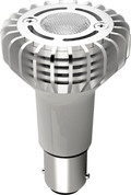 SATCO S9004 Set of 6 Minature LED Lightbulbs (3WLED/1383/ELEVATOR/12V/AC/DC)
