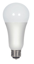 SATCO S9373 Set of 6 Type A LED Lightbulbs (3/11/16A21/3WAY/LED/5000K/120V)