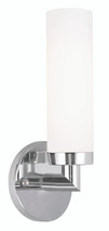 LIVEX Lighting 10103-05 Aero Contemporary Wall Sconce in Polished Chrome (1 Light)