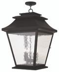 LIVEX Lighting 20247-07 Hathaway Outdoor Chain Lantern in Bronze (5 Light)
