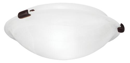 LIVEX Lighting 8010-07 Oasis Contemporary Flushmount in Bronze (2 Light)