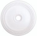 LIVEX Lighting 82076-03 Wingate Ceiling Medallion in White