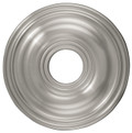 LIVEX Lighting 8217-91 Ceiling Medallion in Brushed Nickel