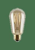 Luminance L7581-1 Set of 6 LED ST21 Nostalogia Filament Lightbulbs