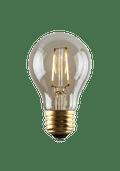 Luminance L7583-1 Set of 6 LED A19 Nostalgia Filament Lightbulbs