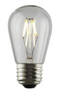 Luminance L7584 Set of 6 LED S14 Nostalgia Filament Lightbulbs