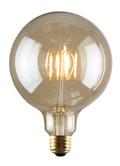 Luminance L7587 Set of 6 LED G40 Nostalogia Filament Lightbulbs