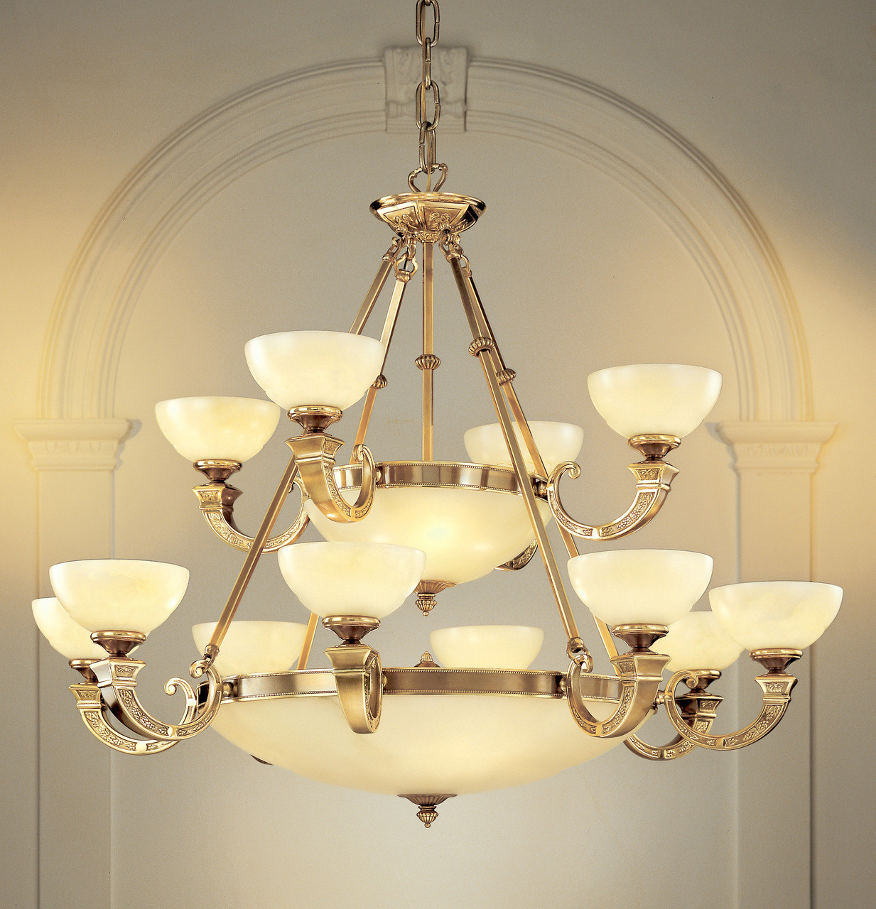 Classic Lighting 5624 ABZ Mallorca Alabaster Chandelier in Antique Bronze  (Imported from Spain) - Classic Lighting 5624 ABZ Mallorca Alabaster Chandelier In Antique